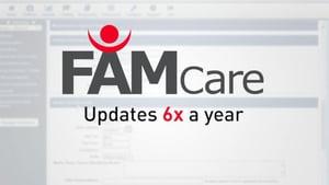 FAMCare updates