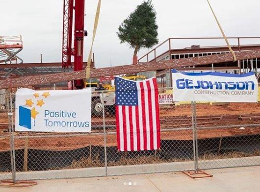 Positive Tomorrows Builds School