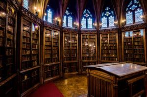 church library
