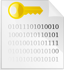 HIPAA encryption key