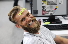 happy case worker stress relief