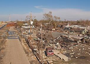 hurricane damage homes