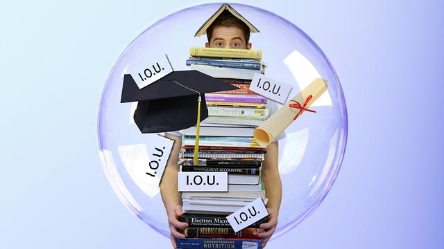 piling student debt