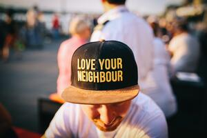 social worker love your neighbor